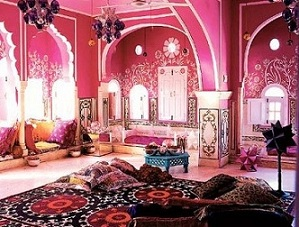 Arabian-pink-room
